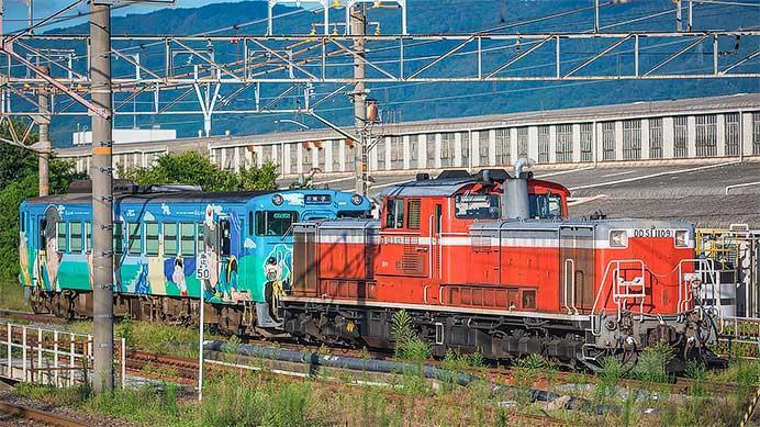 キハ40 2115が京都鉄道博物館へ