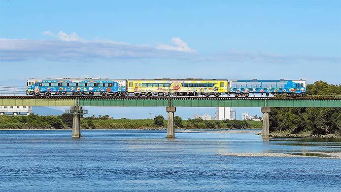 「アンパンマントロッコ」+「ゆうゆうアンパンマンカー」を使用した団体臨時列車運転