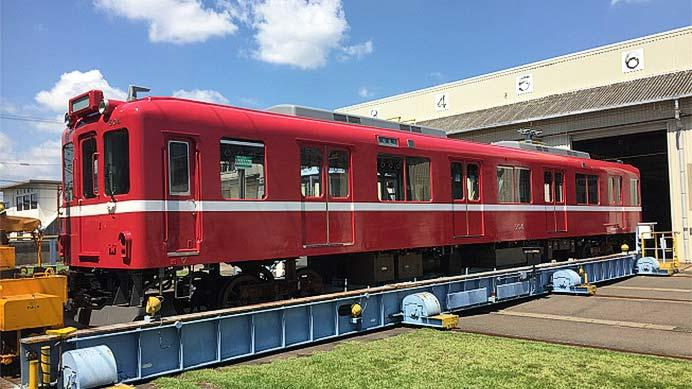 養老鉄道D04編成が9月8日から京急カラーに