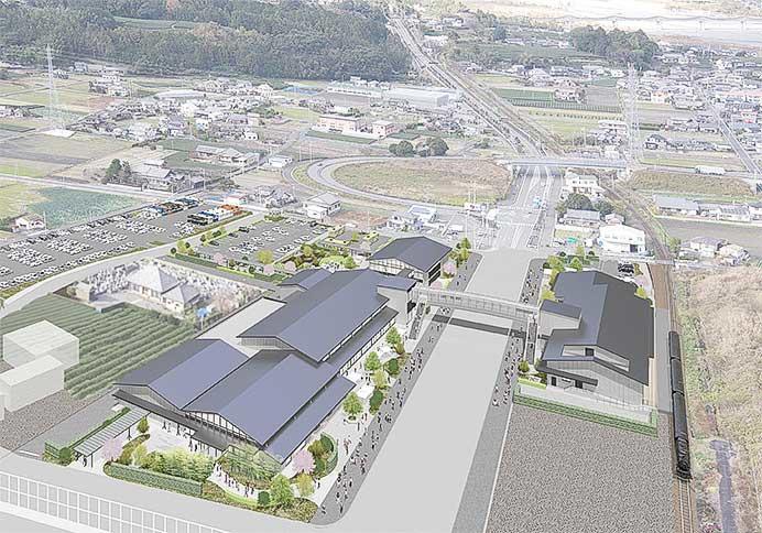 島田市の賑わい交流拠点名称が「KADODE OOIGAWA」に決定