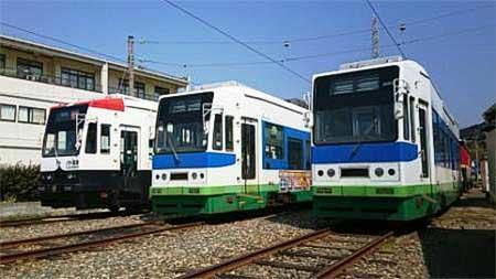 豊橋鉄道,10月中旬からモ802号の営業運転を開始