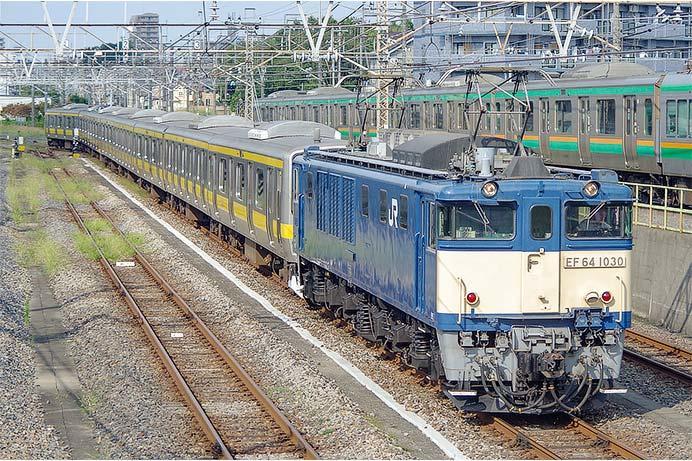 E231系もとB41編成・B57編成の中間車が長野へ