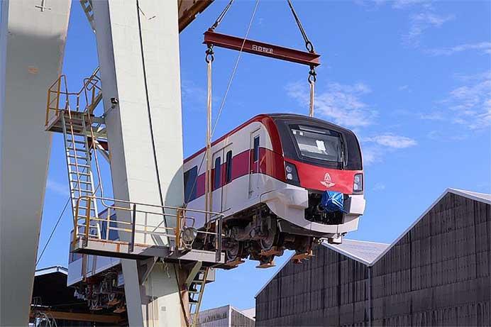 日立製作所,タイ国鉄・バンコクレッドライン向け新形車両の出荷を開始