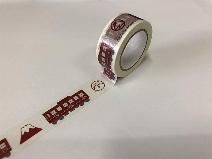富士急行「富士登山電車マスキングテープ」など発売