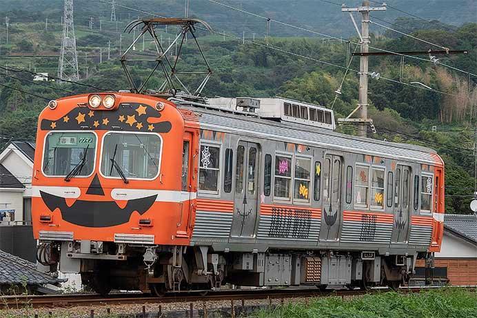 岳南電車で「ハロウィン電車」運転