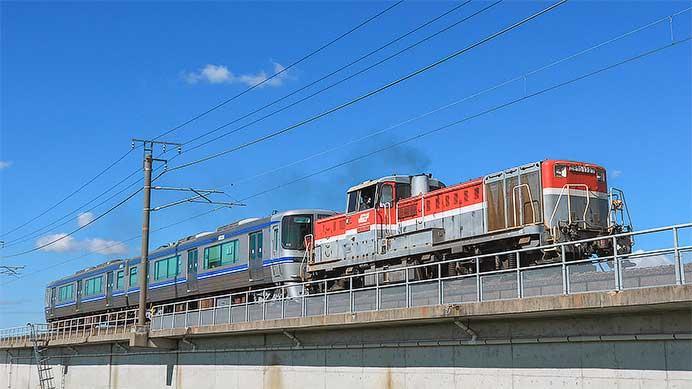 愛環2000系G12編成が日本車輌へ