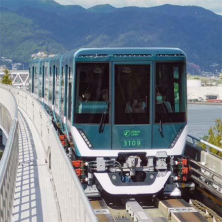神戸新交通六甲ライナー用3000形3109編成が営業運転を開始