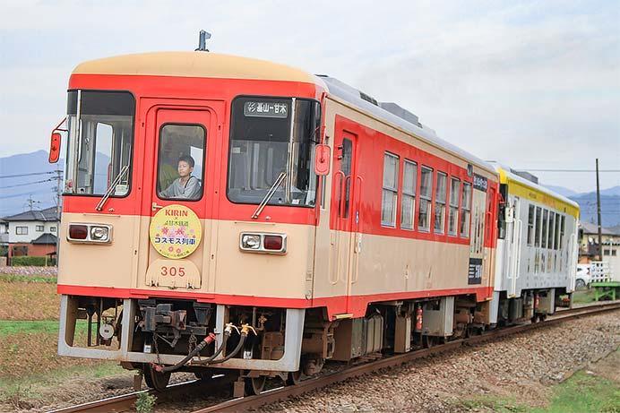 甘木鉄道で増結運転