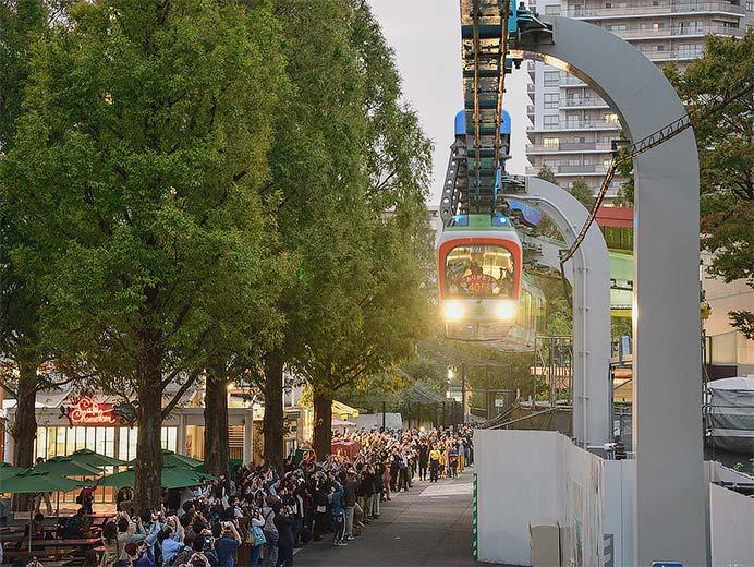 上野動物園のモノレールがラストラン