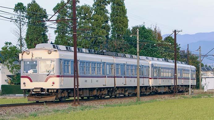 富山地鉄で『14760形40周年記念&14722号引退プレイベント』開催