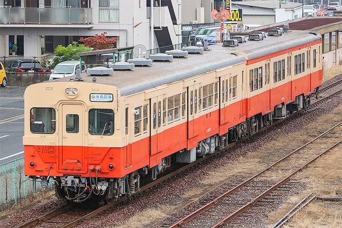 水島臨海鉄道で多客対応による増結運転