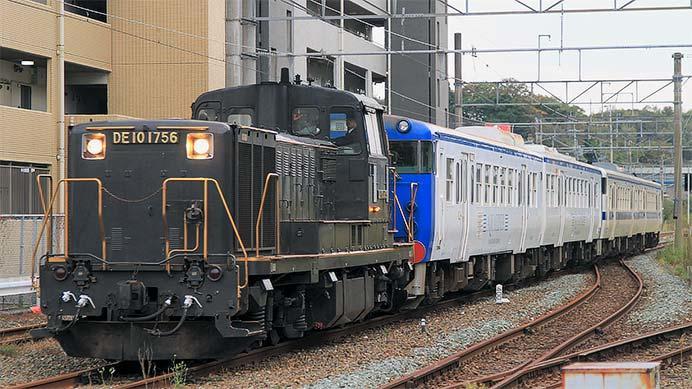 キハ47形4両が小倉総合車両センターへ