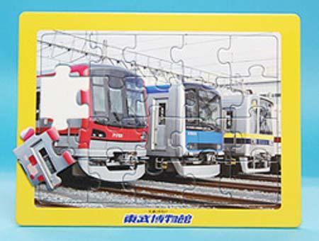 電車パズルの新商品「新しい通勤電車たち(70000系・60000系・20400型)」