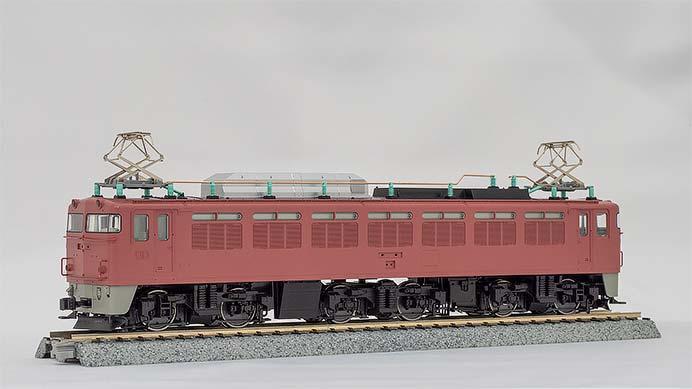 カトー,EF81(一般色・北斗星色)を1/80スケールで製品化