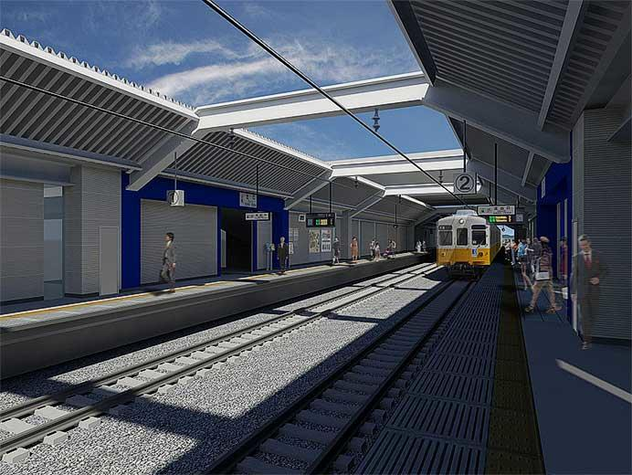 ことでん,琴平線の新駅名称を「伏石」に決定