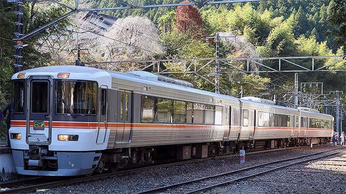"""急行""""飯田線秘境駅号""""が373系で運転される"""