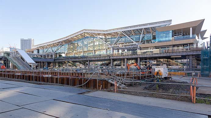 高輪ゲートウェイ駅が公開される