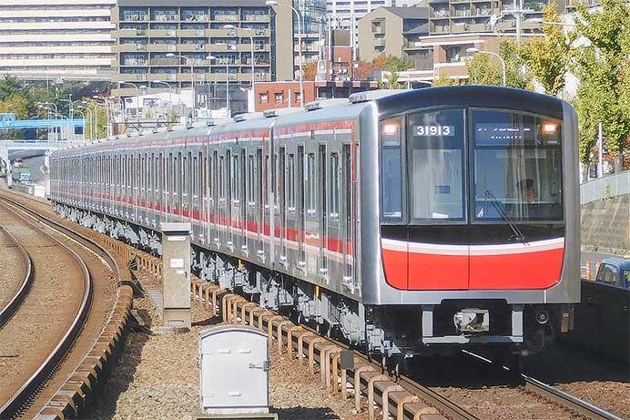 御堂筋線用の30000系31613編成が営業運転を開始|鉄道ニュース|2019年 ...