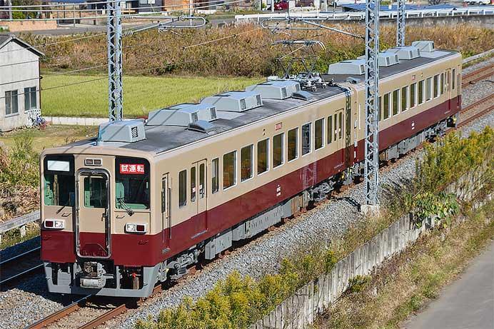 東武鉄道6050系6162編成が旧6000系のツートンカラー塗装になって出場
