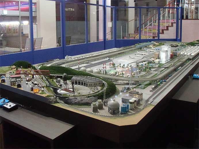 倉敷市に「サンフラワー鉄道ジオラマ館」がオープン