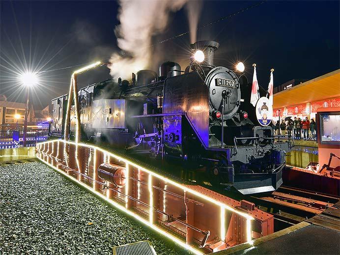 SL「大樹」(にこまるお披露目記念列車)運転