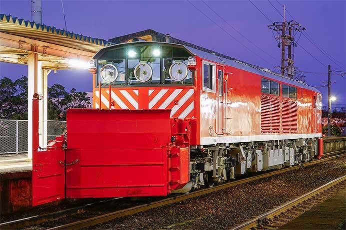 キヤ143-7が鳥取鉄道部西鳥取車両支部へ