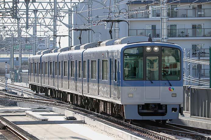 阪神本線魚崎—芦屋間の上り線が高架化される