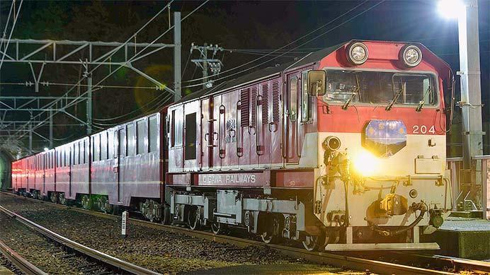 大井川鐵道で『井川線 星空列車』運転