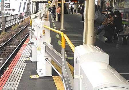 JR東日本,町田駅のスマートホームドア®を改良