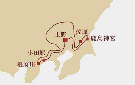 JR東日本,「TRAIN SUITE 四季島」に鹿島神宮・小田原を巡る新コース設定