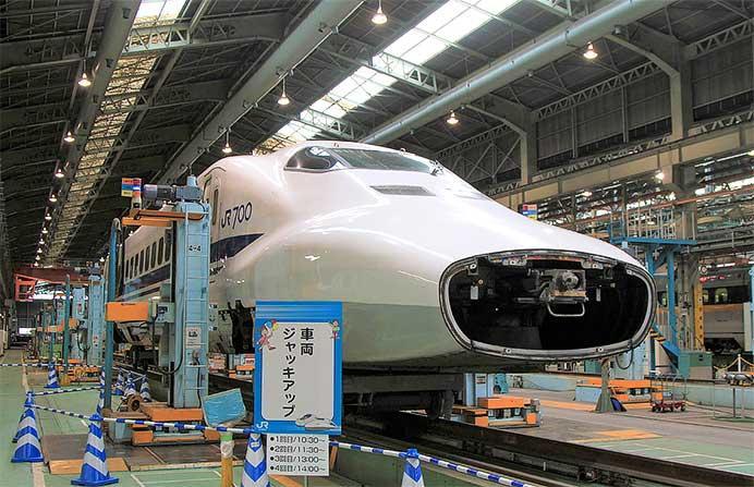 博多総合車両所で『新幹線ふれあいデー』開催