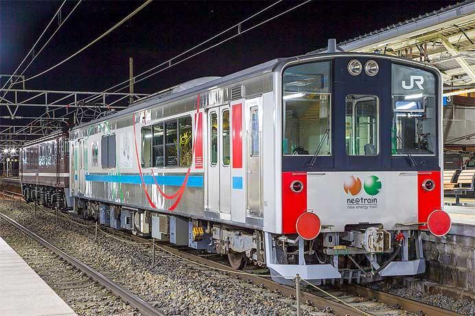 クモヤE995-1が長野総合車両センターへ