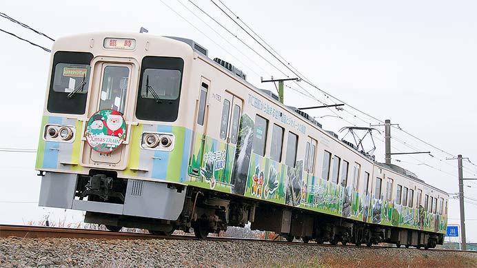 上信電鉄「クリスマストレイン」700形第2編成で運転