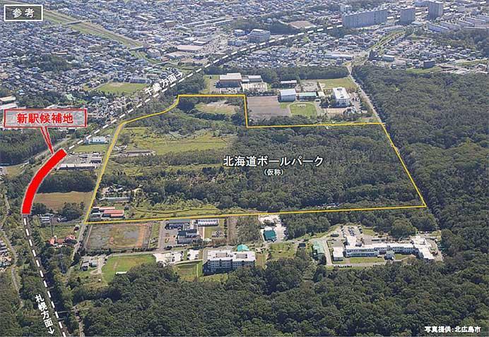 JR北海道,北海道ボールパーク(仮称)開業にともなう新駅案などを発表