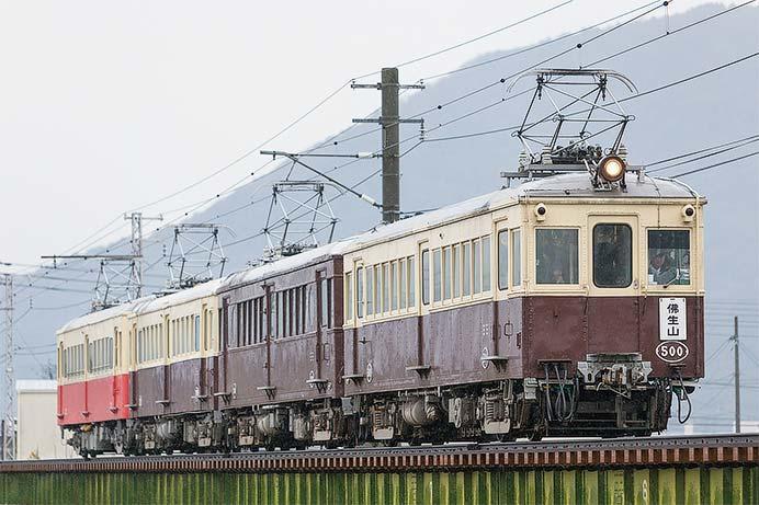 ことでん2019年最後のレトロ電車運転