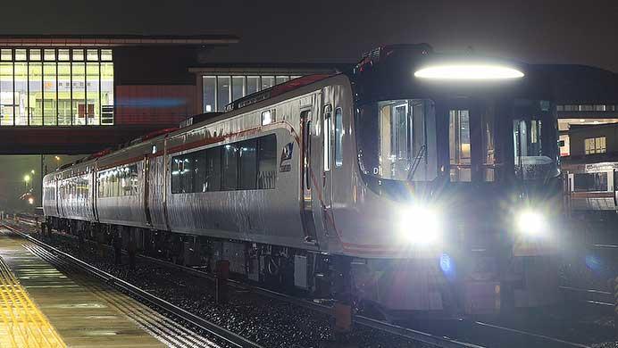 HC85系試験走行車が美濃太田へ