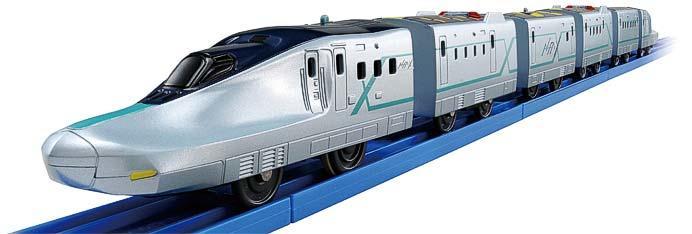 プラレール「いっぱいつなごう新幹線試験車両ALFA-X(アルファエックス)」発売