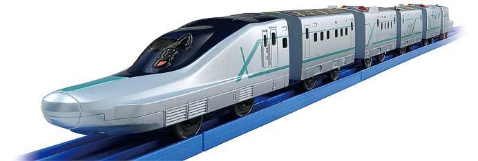 「いっぱいつなごう新幹線試験車両ALFA-X(アルファエックス)」後尾車両
