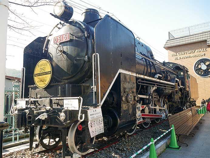 トロッコ嵯峨駅のD51 51が解体へ