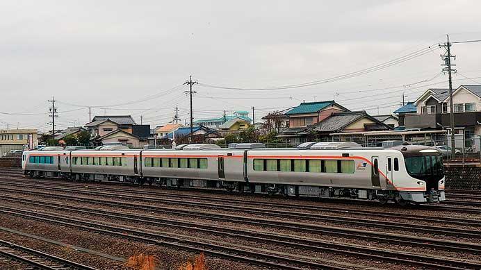 HC85系試験走行車が美濃太田運輸区・車両区で乗務員訓練