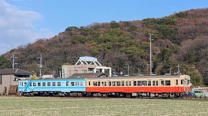 水島臨海鉄道で正月限定ヘッドマーク