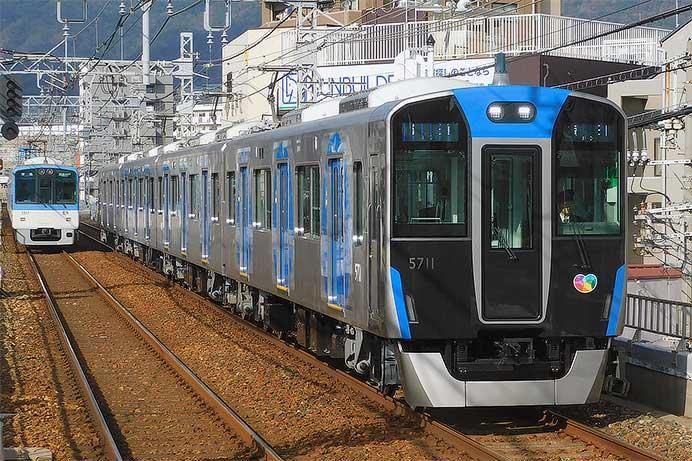 阪神5700系5711編成が営業運転を開始
