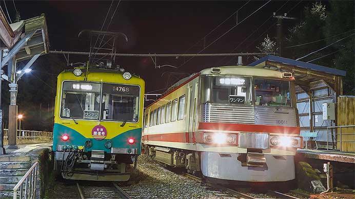 富山地方鉄道で初詣臨時列車運転