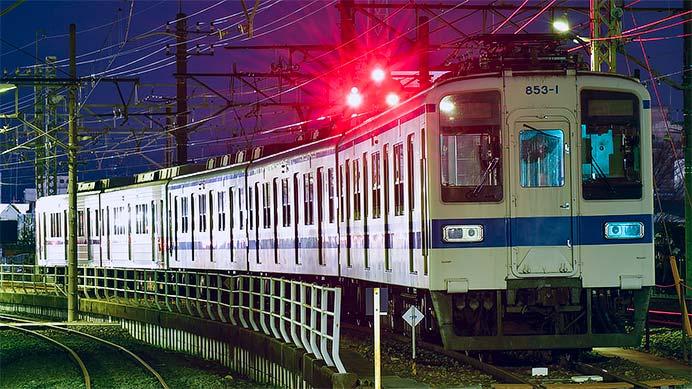 東武20000系21804編成の両先頭車が館林へ