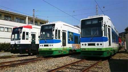 豊橋鉄道,3月下旬からモ803号の営業運転を開始