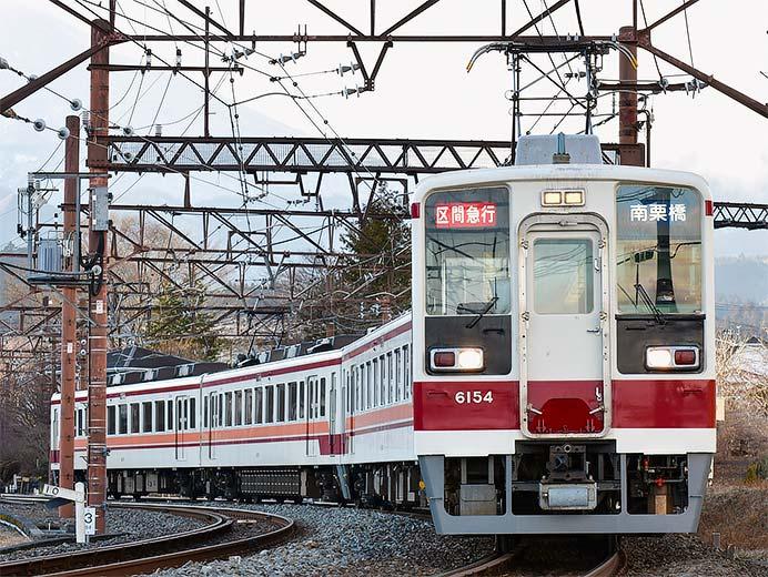 東武6050形6154編成が約2年ぶりに営業運転に復帰