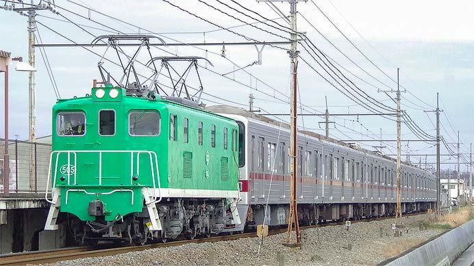 東武30000系31606編成と31406編成が東上線へ