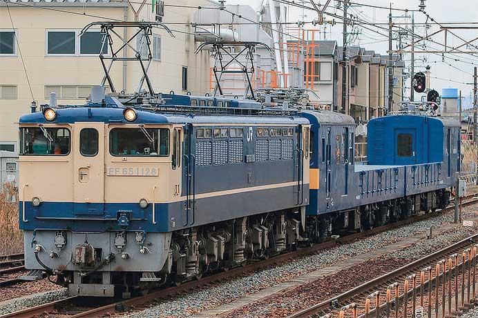クモル145+クル144が京都鉄道博物館へ