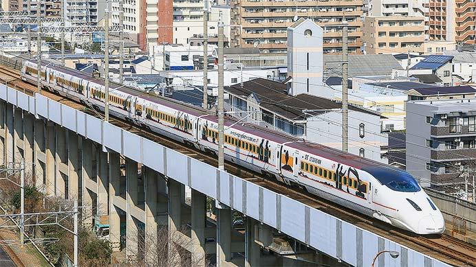 九州新幹線で「CAT新幹線」運転