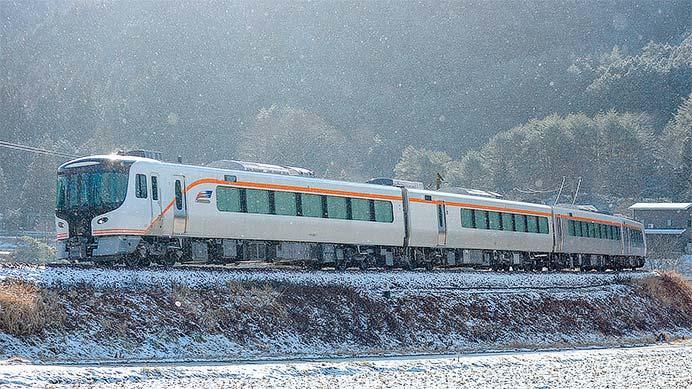 HC85系試験走行車が高山本線で日中に試運転